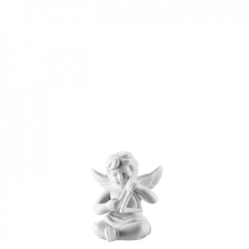 Angel with triangle small White-mat