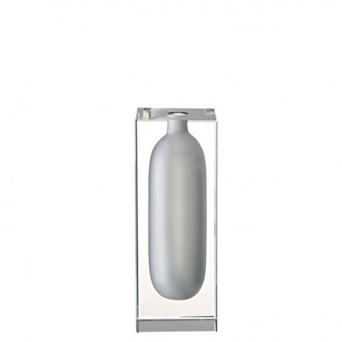 Vase, 3 x 8 1/2 inch | Block Glas