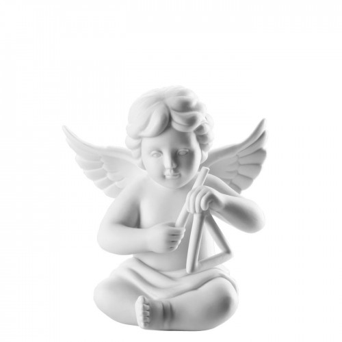 Angel with triangle middle White-mat