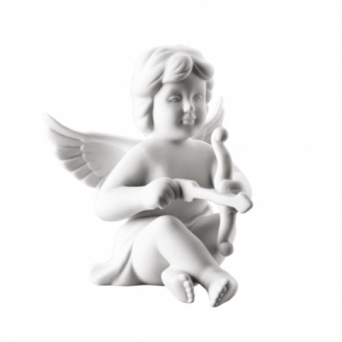 Angel Cupid middle White-mat