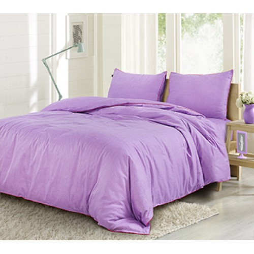 Grain DE Glace Collection Bedsheet LILAC