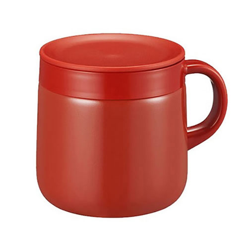 STAINLESS STEEL THERMAL MUG 0.28L CHERRY