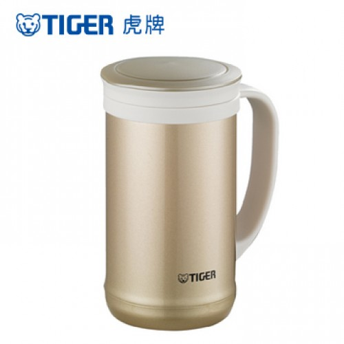 STAINLESS STEEL THERMAL MUG 0.5L CHAMPAGNE GOLD