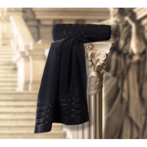 Roman Towel Black ladies towel