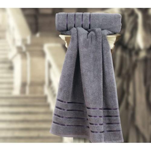 Roman Towel Charcoal Grey ladies towel